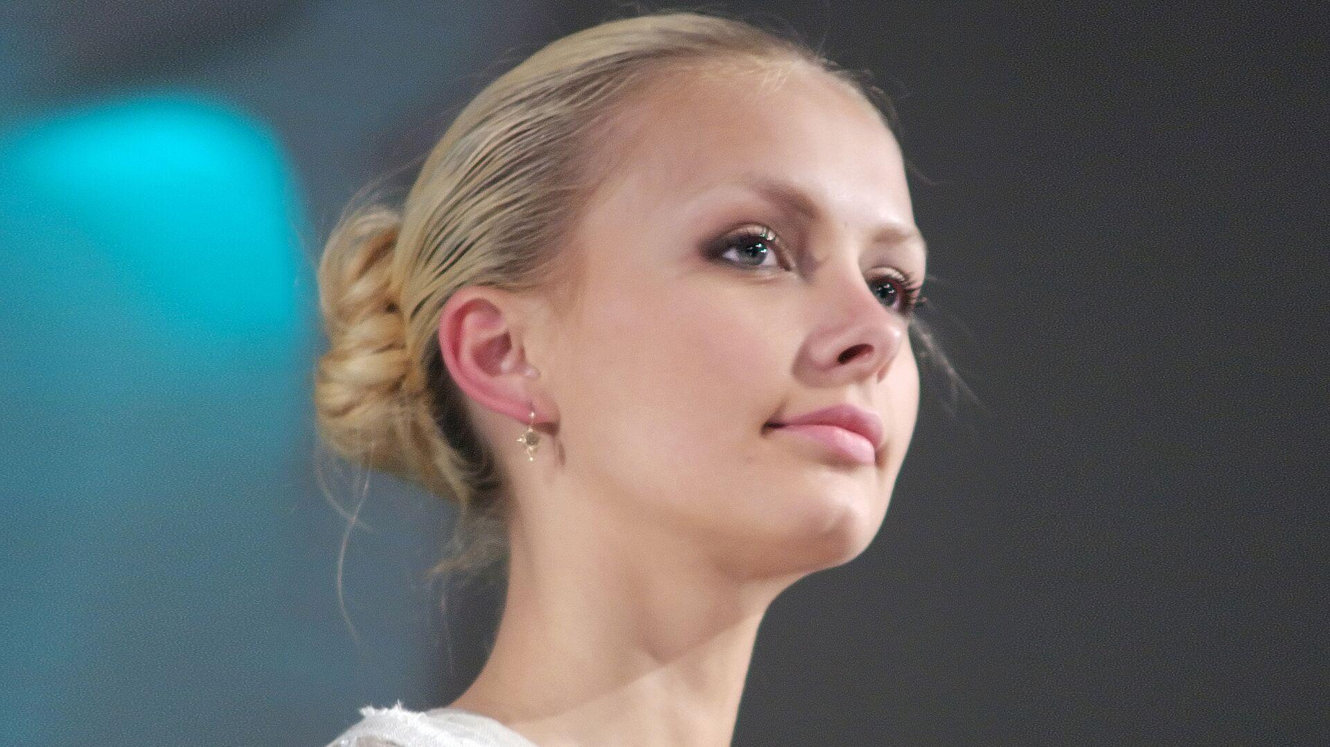 Белорусская модель, победительница конкурса Мисс Беларусь-2008 Ольга Хижинкова - РИА Новости, 1920, 20.12.2020