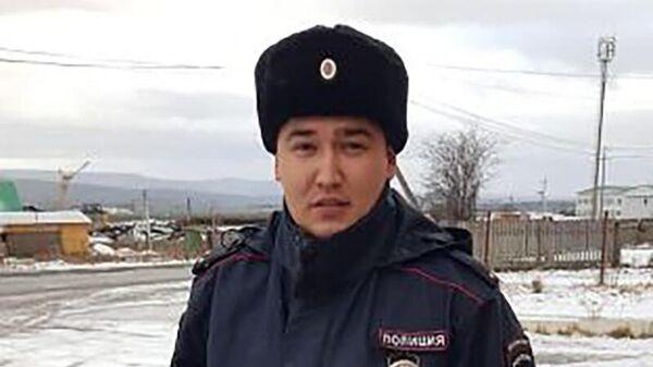 Лейтенант полиции Азат Галимов