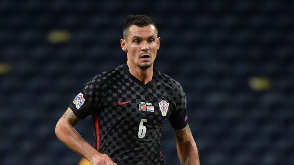 Защитник сборной Хорватии Деян Ловрен