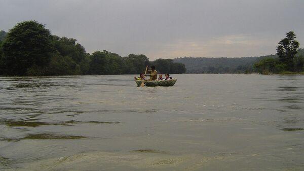 Река Кавери в Индии