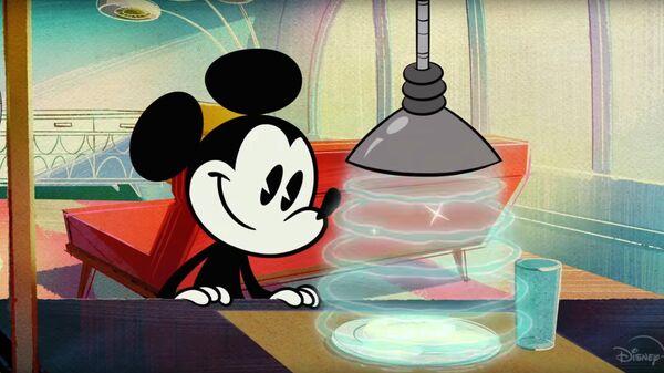 Кадр из трейлера мультсериала Чудесный мир Микки Мауса