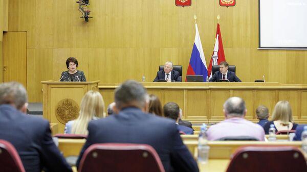 Заседание депутатов Воронежской областной думы