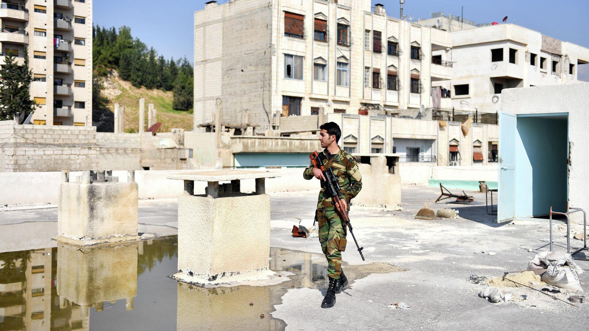 В Сирии заявили об атаке Израиля по территории к югу от Дамаска