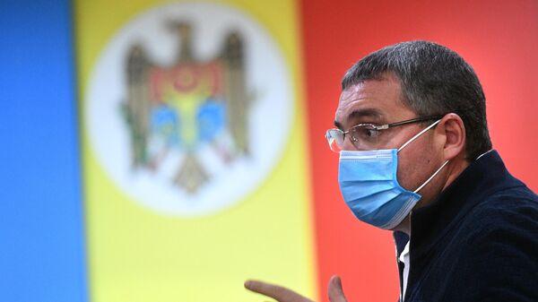 Кандидат в президенты Молдавии, председатель политического формирования Наша Партия Ренато Усатый