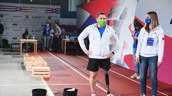 Участник чемпионата мира Cybathlon 2020