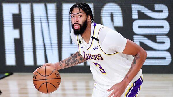 Игрок клуба НБА Лос-Анджелес Лейкерс Энтони Дэвис