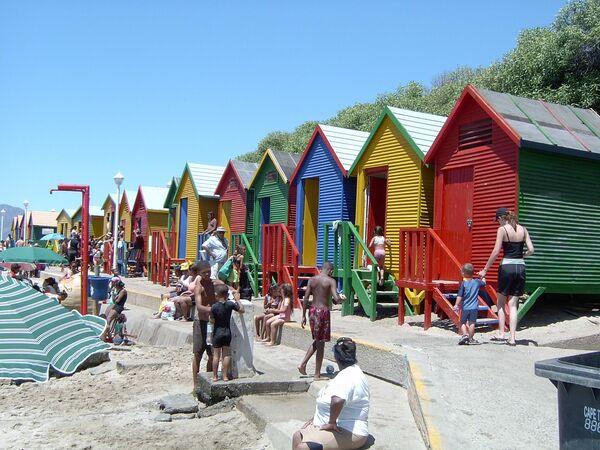 Пляж в Кейптауне