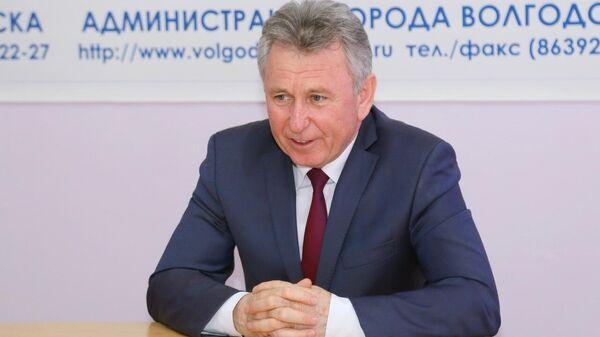 Глава администрации города Волгодонска Ростовской области Виктор Мельников