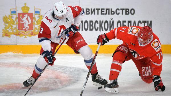 Хоккей. КХЛ. Матч Автомобилист – Локомотив