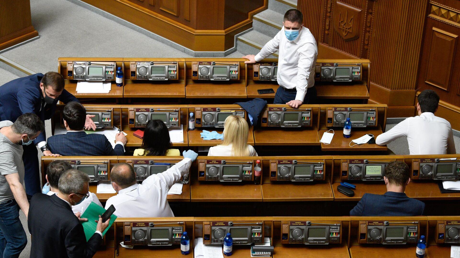 Заседание Верховной рады Украины - РИА Новости, 1920, 03.12.2020