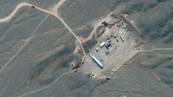 Спутниковый снимок ядерного объекта Ирана в Натанзе