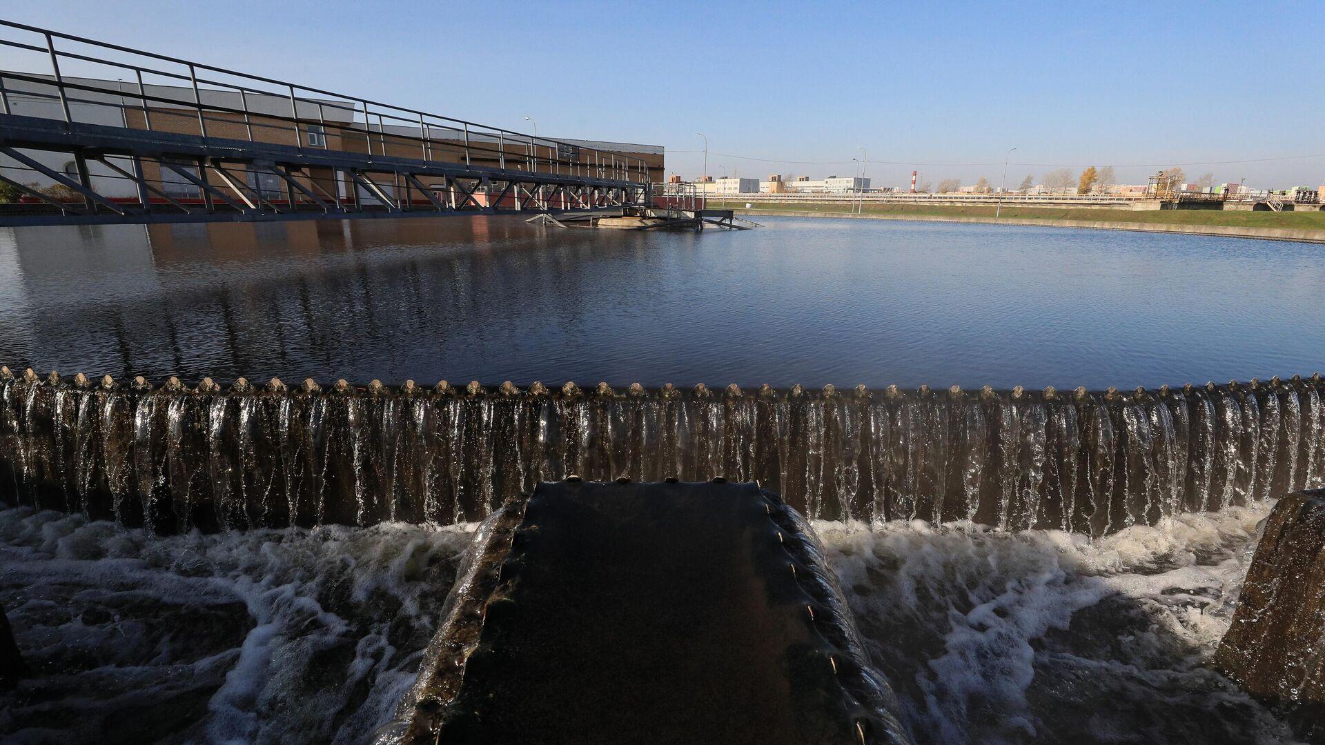 Очистка воды на Люберецких очистных сооружениях - РИА Новости, 1920, 23.03.2021