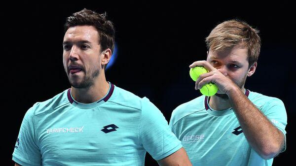 Немецкие теннисисты Кевин Кравиц и Андреас Мис