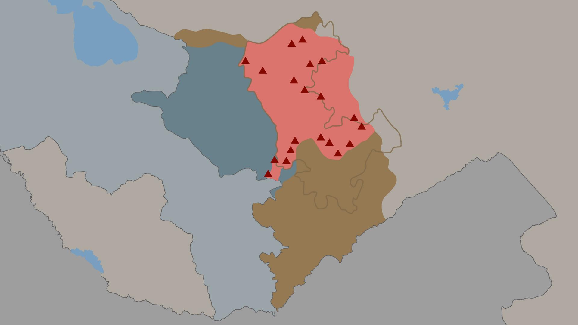 Российские миротворческие силы в Карабахе: дислокация и контингент - РИА Новости, 1920, 16.11.2020