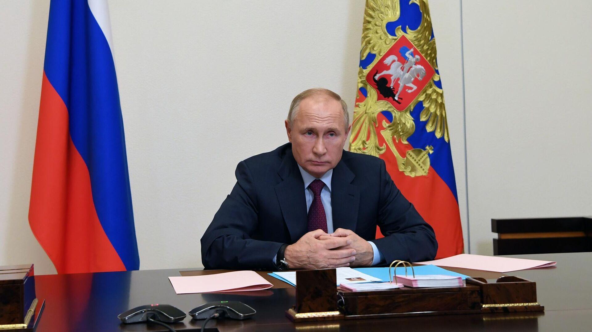Президент РФ Владимир Путин - РИА Новости, 1920, 24.11.2020