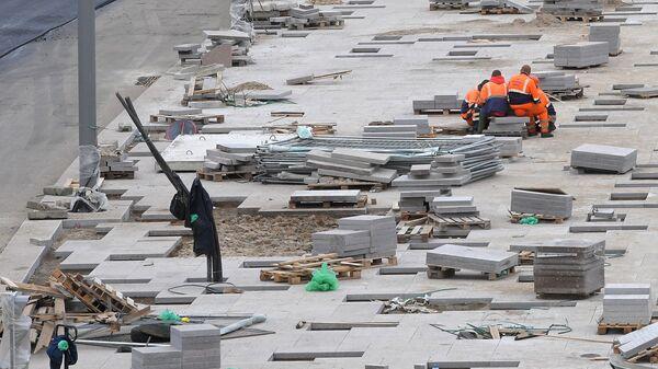 Реконструкция набережной в Москве