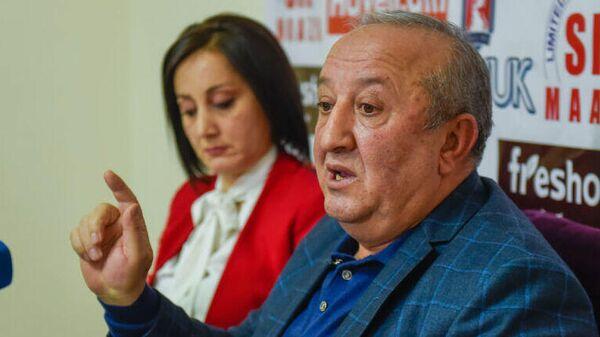 Бывший руководитель военно-контрольной службы Армении Мовсес Акопян