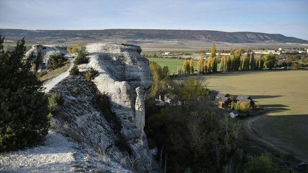 Гора крокодил в Бахчисарайском районе Республики Крым