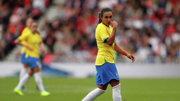 Футболистка сборной Бразилии Марта