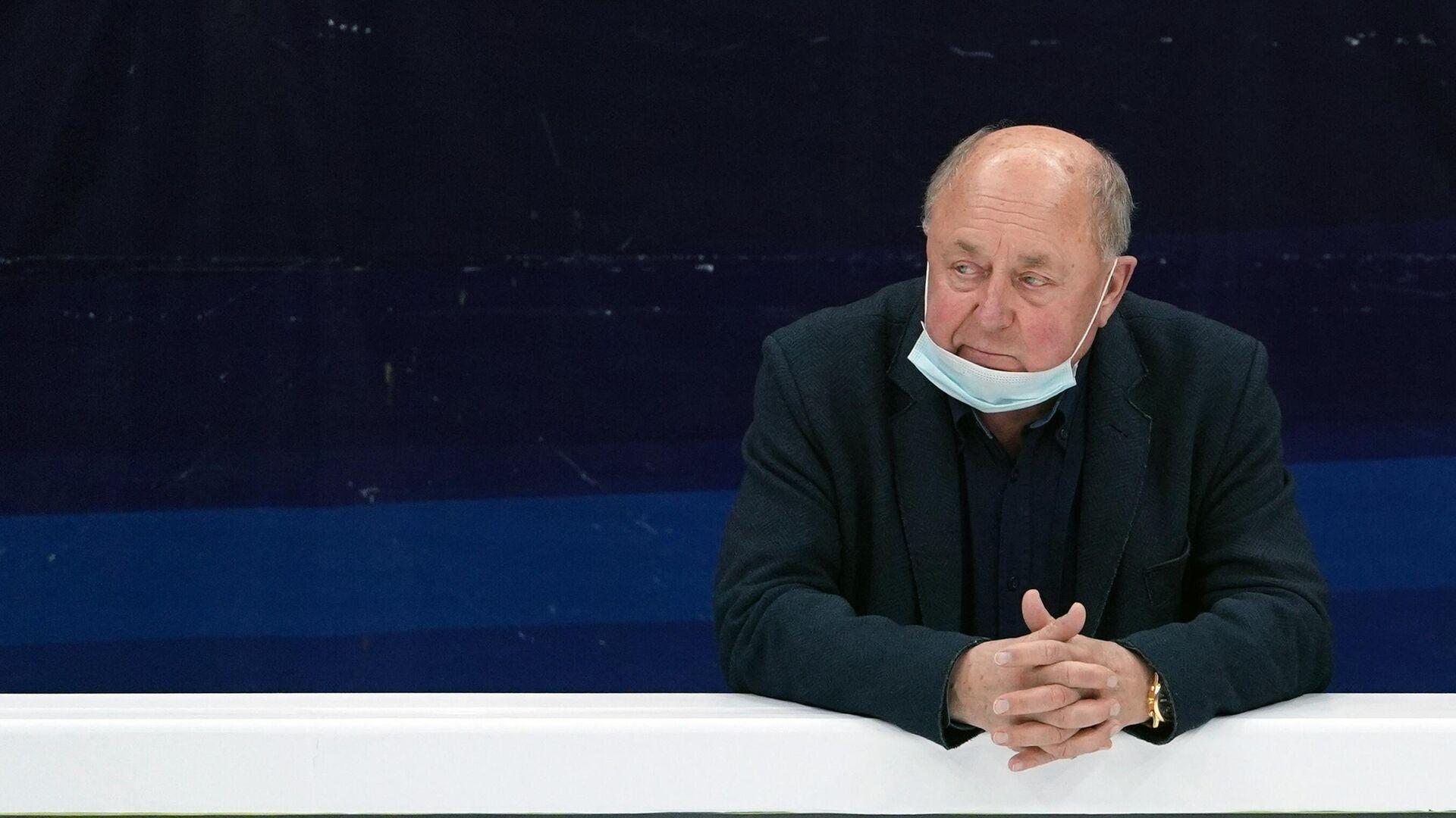 Тренер Алексей Мишин - РИА Новости, 1920, 12.01.2021