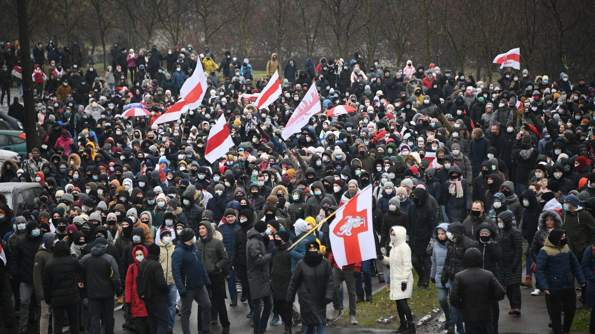 Акция протеста в Минске - РИА Новости, 1920, 02.12.2020