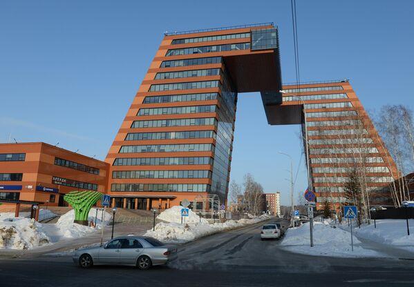 Башни Технопарка новосибирского академгородка