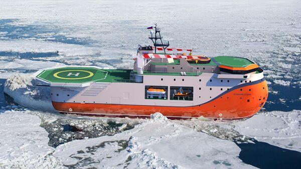Ледостойкая самодвижущаяся платформа Северный полюс
