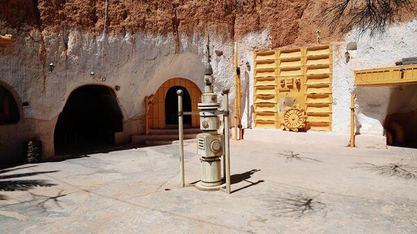 Место съемок фильма Звездные войны в городе Матмата в Тунисе