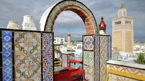 Вид на Медину в Тунисе