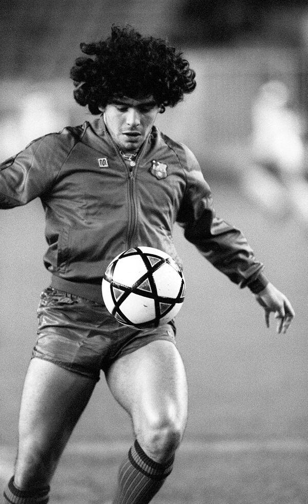 Диего Марадона в составе Барселоны