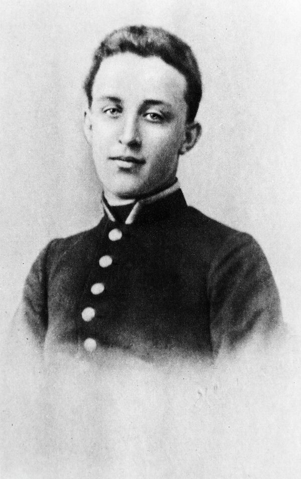 Русский поэт Александр Александрович Блок