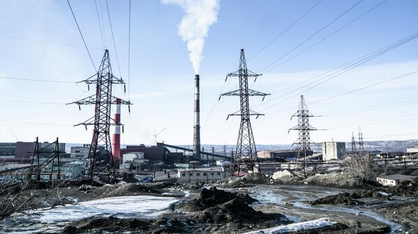 Город Никель в Мурманской области