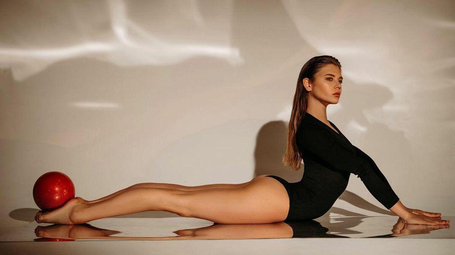 Российская гимнастка Александра Солдатова - РИА Новости, 1920, 27.11.2020