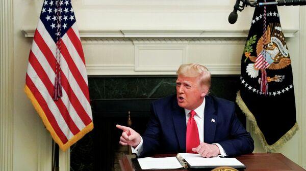 Сдает, но не сдается. Трамп назвал условие своей отставки. Ошибкой