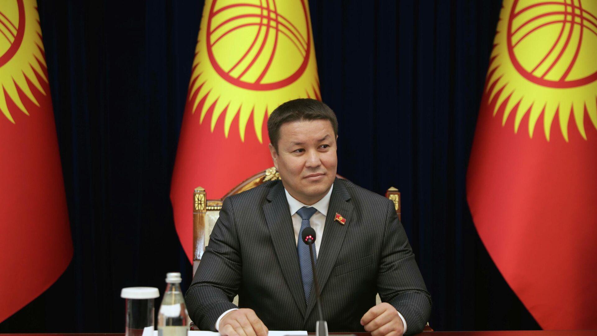 И.о. президента Киргизии Талант Мамытов - РИА Новости, 1920, 27.11.2020