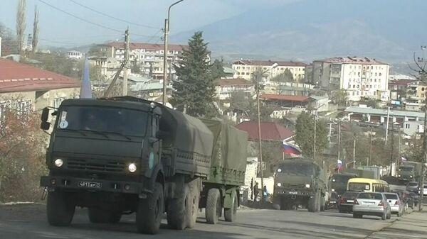 Первые подразделения медицинского отряда специального назначения в Степанакерте