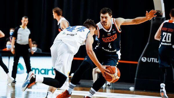 Баскетболист сборной России Евгений Бабурин