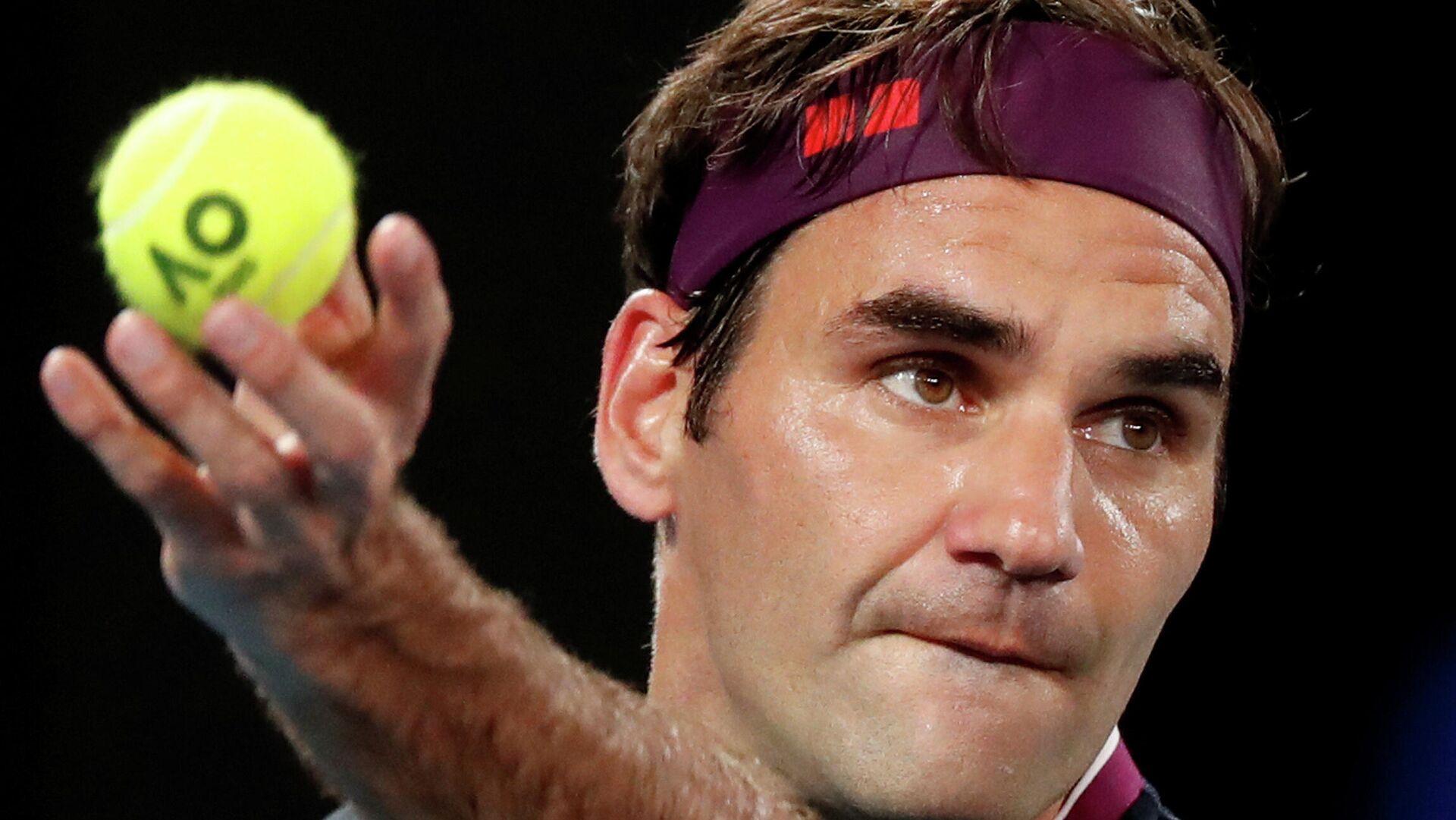 Теннисист Роджер Федерер (Швейцария) - РИА Новости, 1920, 02.12.2020