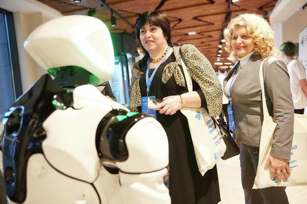 Участники первой Международной педагогической конференции Подготовка кадров для цифровой экономики