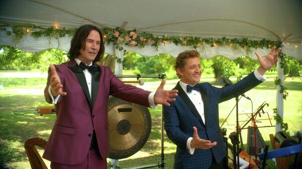 Кадр из фильма Билл и Тед
