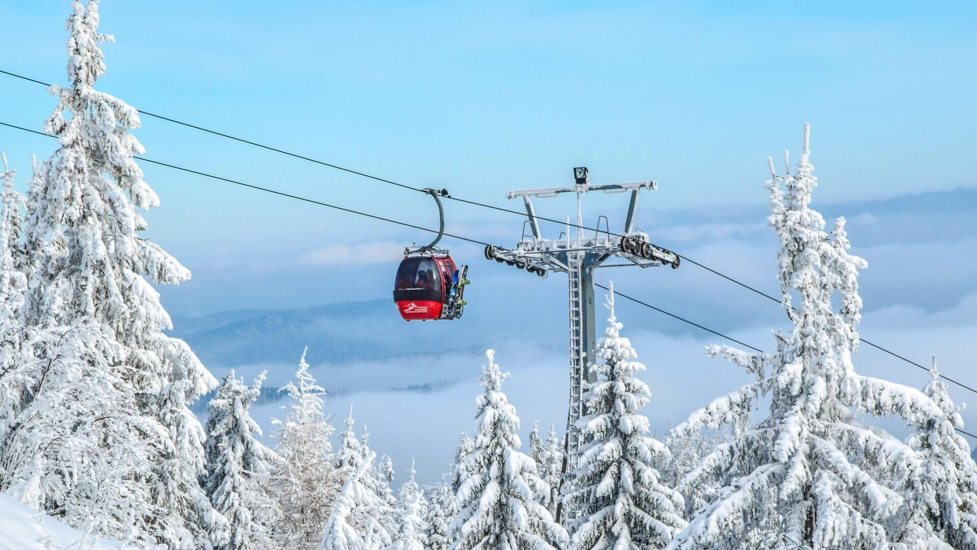 В горнолыжном центре Сербии открыли самую длинную в мире канатную дорогу