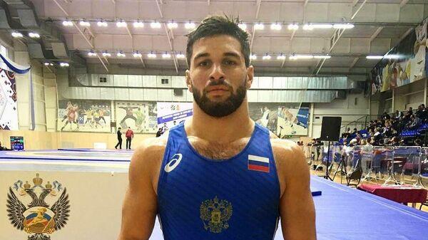 Российский борец Алан Багаев.