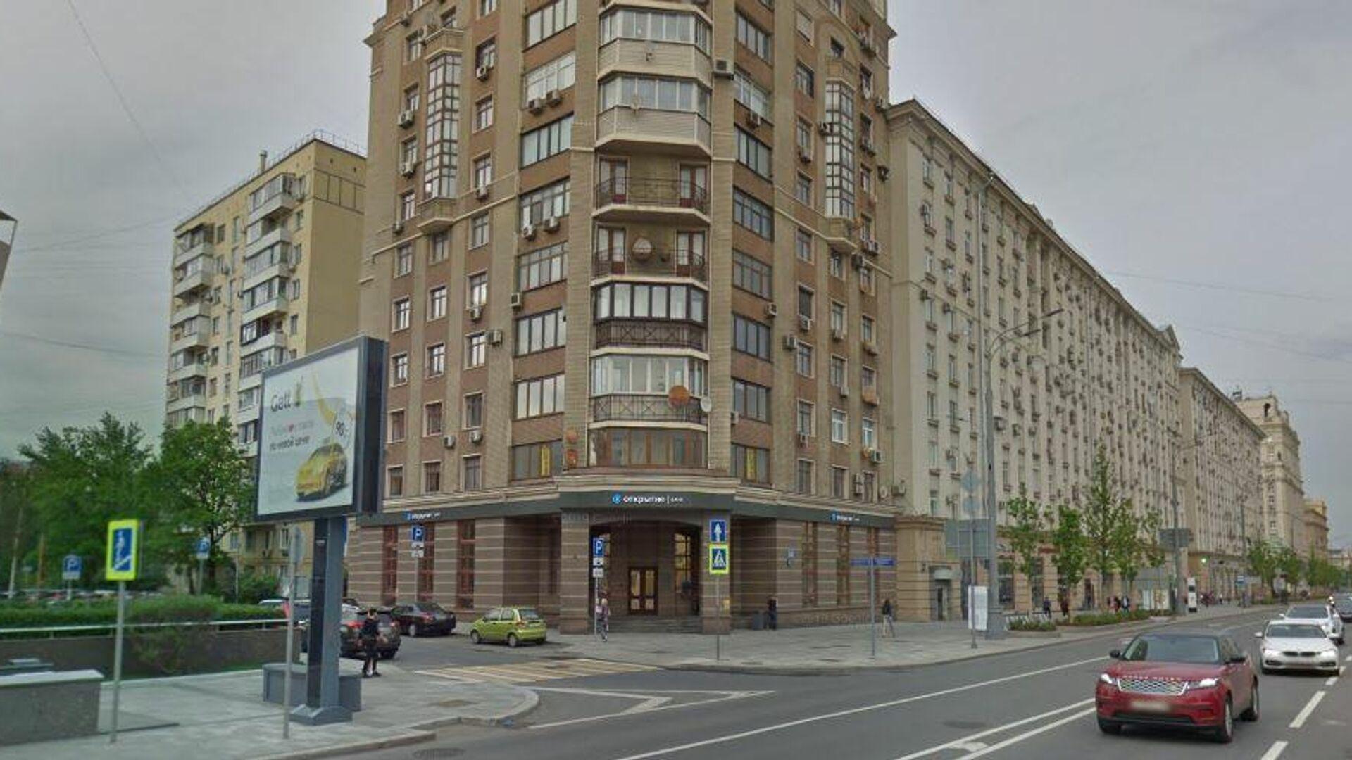 Отделение банка Открытие на Валовой улице, недалеко от Павелецкого вокзала - РИА Новости, 1920, 04.12.2020