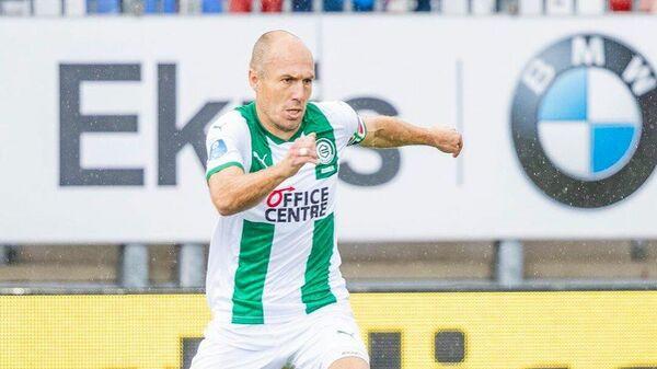 Полузащитник футбольного клуба Гронинген Арьен Роббен