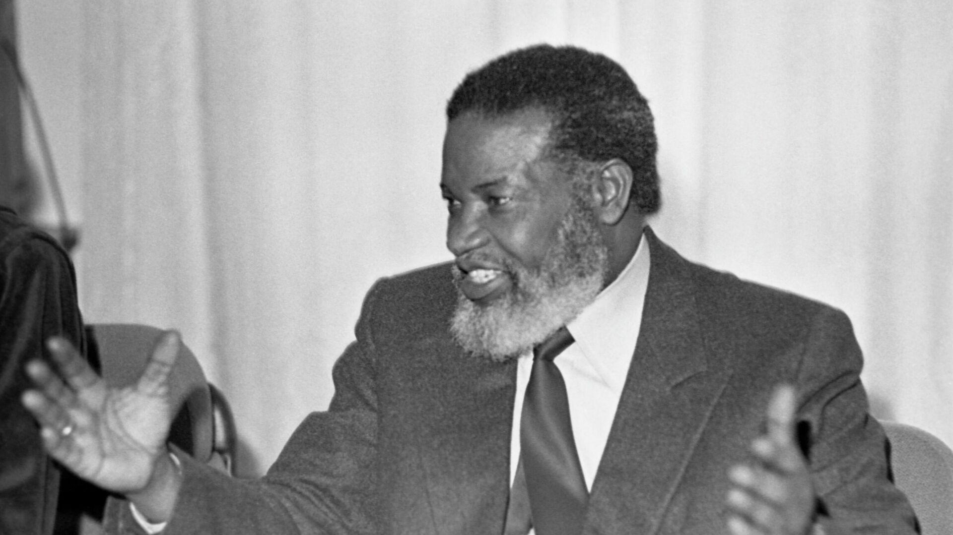 Первый президент Намибии Сэм Нуйома - РИА Новости, 1920, 07.12.2020