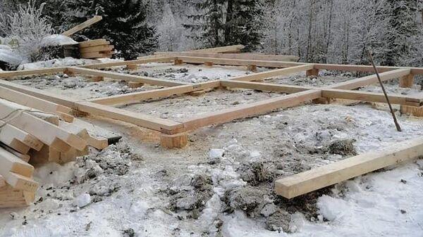Строительство нового дома для Агафьи Лыковой