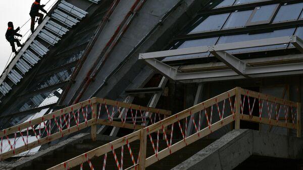 Строительство спортивных объектов в Лужниках