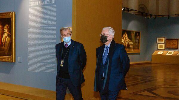 Открытие выставки Линия Рафаэля. 1520-2020 в Эрмитаже