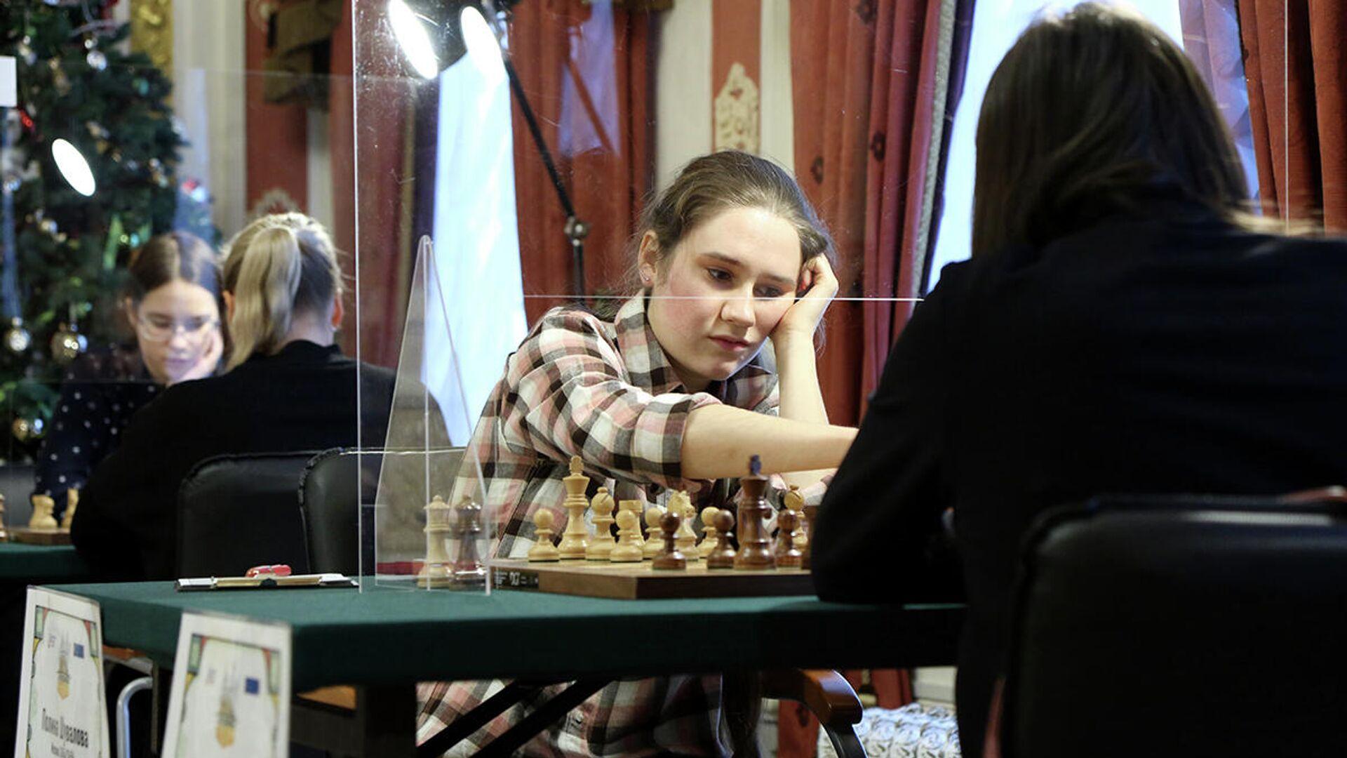 Шахматистка Полина Шувалова (Россия) - РИА Новости, 1920, 10.12.2020
