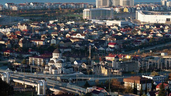 Поселок городского типа Сириус в Краснодарском крае